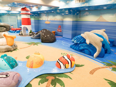 pearl dental play area by playtime ocean theme