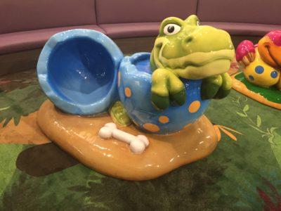 International IKEA Dinosaur Theme Play Environment Created by Playtime