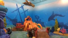 Magnolia Mall Aquatic Theme Play Environment Created by Playtime
