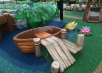 Pavilion at Port Orange FL River & Fishing Theme Play Environment Created by Playtime