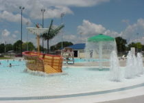 Council Bluffs Parks and Rec Pirate Ship - Water Theme Environment Created by Playtime