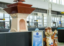 Washington Dulles Airport - NASA Play Theme Environment Created by Playtime