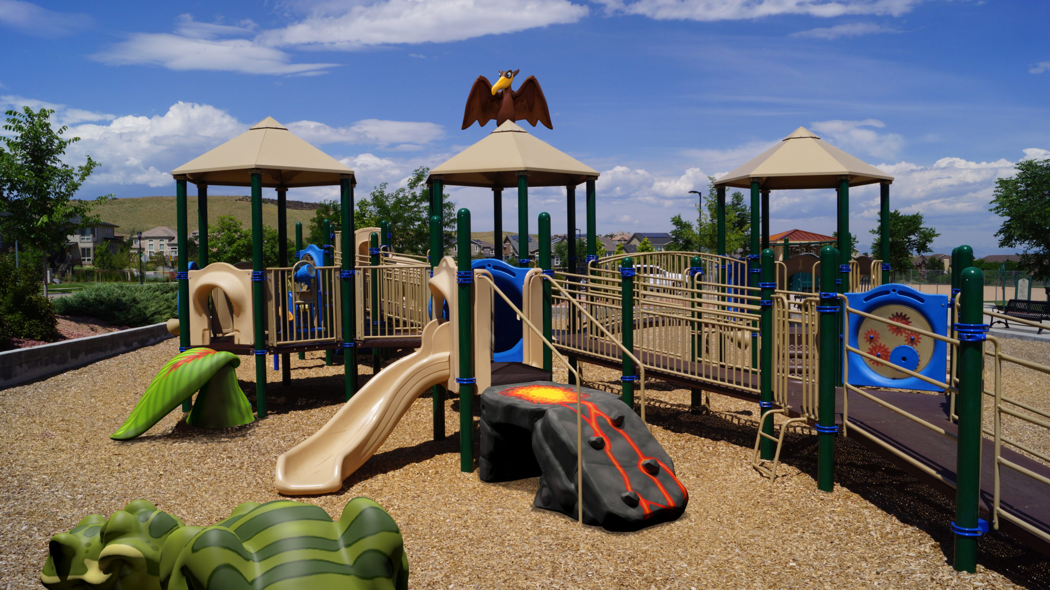 outdoor play area renovation by playtime