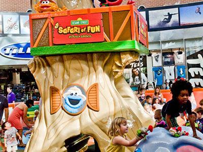 PLAYTIME Sesame Street Play area-tree