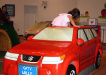 PLAYTIME play area-Suzuki Katy Mills car