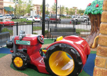 PLAYTIME play area Alamance tractor