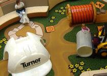 PLAYTIME construction play time sponsor branding Turner