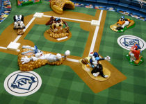 PLAYTIME sports-baseball Looney Tunes play area