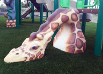 Secaucus-NJ-Playground featuring giraffe created by PLAYTIME