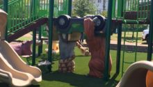 Secauses NJ Jungle Theme Play Environment Created by Playtime