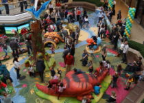 Cherry Creek Shopping Center featuring PLAYTIME play area aerial photo