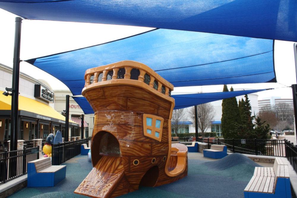 South Park Mall custom play area