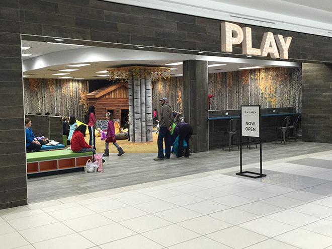 Southwest Plaza play area