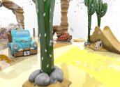 Desert Splash play area by Playtime