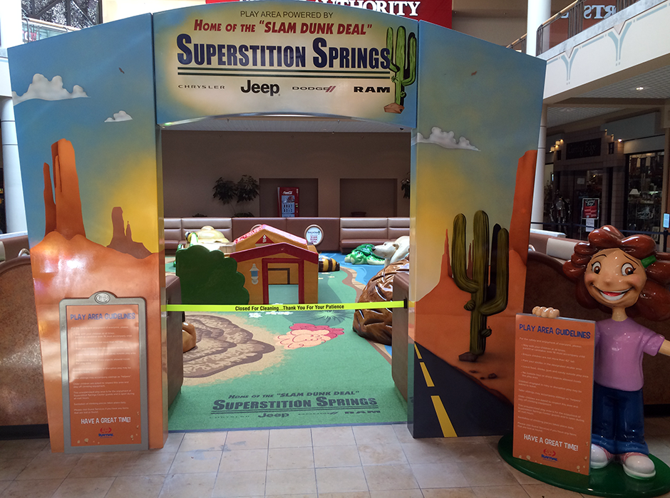 Superstition springs custom play area