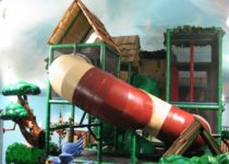 Monkey Mountain play area created by PLAYTIME