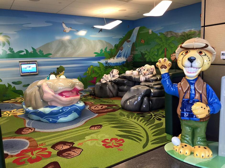Wichita airport custom play area