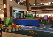 Branded play area in Aventura mall