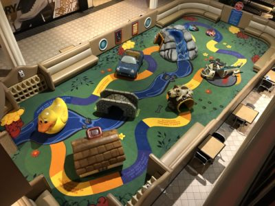 Playtime play area in Carolina Place Mall