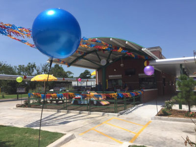 Sonic Drive-Thru with Play Area