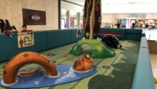 Play area by Playtime at South Park Mall